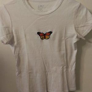 Brandy Melville/John Galt butterfly tee
